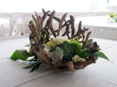 Ideas to arrange your succulent with driftwood 45